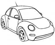 dessin voiture coccinelle dessin à colorier