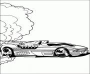 Coloriage dessin voiture hot wheels
