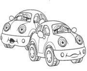 dessin voiture drole dessin à colorier