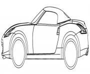 image voiture charlie davies dessin à colorier