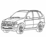 voiture bmw dessin à colorier