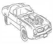 voitures de marque dessin à colorier