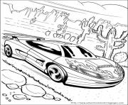 Coloriage voitures hot wheels