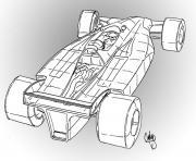 dessin voiture sport dessin à colorier