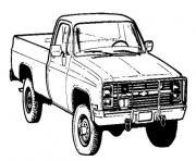 voiture 4 4 dessin à colorier