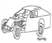Coloriage voitures tuning