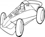 voitures sport dessin à colorier