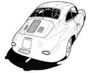 image voiture 3d dessin à colorier