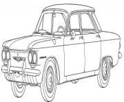 image voiture a imprimer dessin à colorier