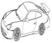 voiture de marque dessin à colorier