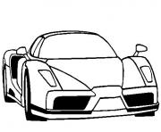 Coloriage dessin voiture de luxe dessin