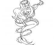 sirene winx dessin à colorier