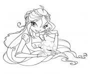 Coloriage winx believix roxy