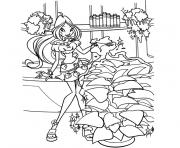 Coloriage tv winx