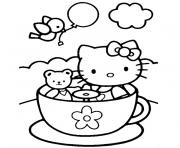 Coloriage dessin hello kitty 17 dessin