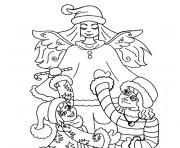 de noel pour maternelle dessin à colorier