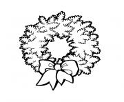 noel noir et blanc dessin à colorier