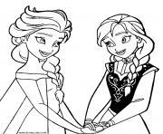 coloriage Elsa frozen reine des neiges