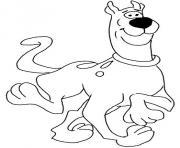Scooby Doo dessin à colorier