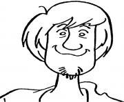 tete de Sammy dessin à colorier
