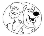 Sammy et Scoubidou dessin à colorier