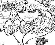 Hermione Granger 2 dessin à colorier
