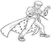 apprenti magicien dessin à colorier
