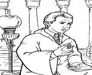 Drago Malefoy dessin à colorier