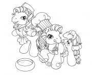 Coloriage poney chevaux