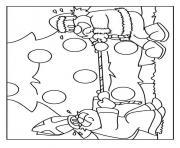 pere noel nicolas dessin à colorier