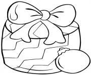 cadeaux de noel simple dessin à colorier