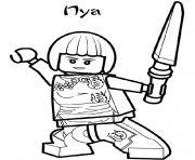 Coloriage dessin i love you ninjago dessin