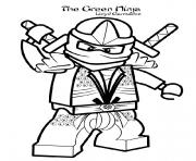 Coloriage lego ninjago halloween dragon dessin