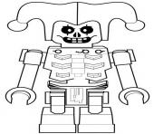 Coloriage LEGO Ninjago Kai Tournament of Elements dessin