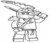 Coloriage dessin i love you ninjago dessin