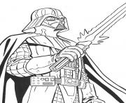 Coloriage star wars le cote obscur de la force