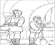 Coloriage nettoyer et passer le ballet star wars