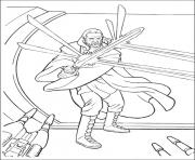 Coloriage star wars defense de la galaxie