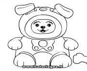 Coloriage dessin chien beagle dessin