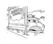 camion police dessin à colorier