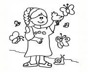 jeux de fille dessin à colorier
