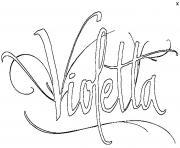 Coloriage violetta saison 3 dessin - Image de violetta a telecharger ...