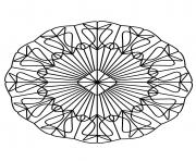 Coloriage mandalas to download for free 20