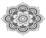 Coloriage mandalas to download for free 10  dessin