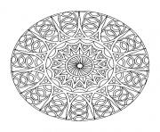 coloring free mandala difficult adult to print 8 dessin à colorier