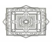 mandalas to download for free 3  dessin à colorier