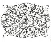 Coloriage mandalas to download for free 14