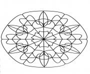 Coloriage mandalas to download for free 21