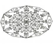 Coloriage mandalas to download for free 24