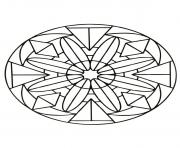 Coloriage mandalas to download for free 9